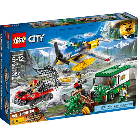 LEGO City: Ограбление у горной речки 60175 — Mountain River Heist — Лего Сити Город