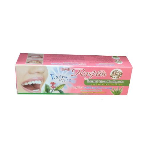 ISME Rasyan Паста зубная с гвоздикой в тубе Herbal Clove Toothpaste, 30 мл