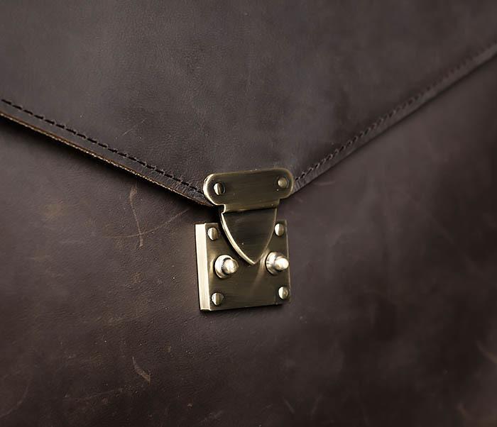 BAG471-2 Мужской портфель из толстой кожи фото 04