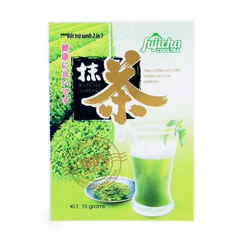 Вьетнамский зеленый чай Матча (маття) Green, растворимый 2 в 1, 150 гр., 10 пак.