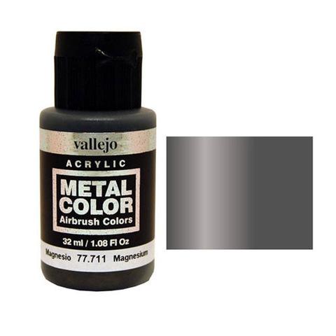 711 Краска Metal Color Магний (Magnesium) укрывистый, 32 мл