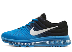 Кроссовки Мужские Nike Air Max 2017 Black Blue
