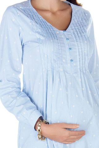 Блузка 09420 цветочный принт