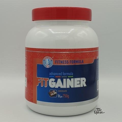 Гейнер FITNESS FORMULA, вкус шоколад, Академия-Т, 750 гр