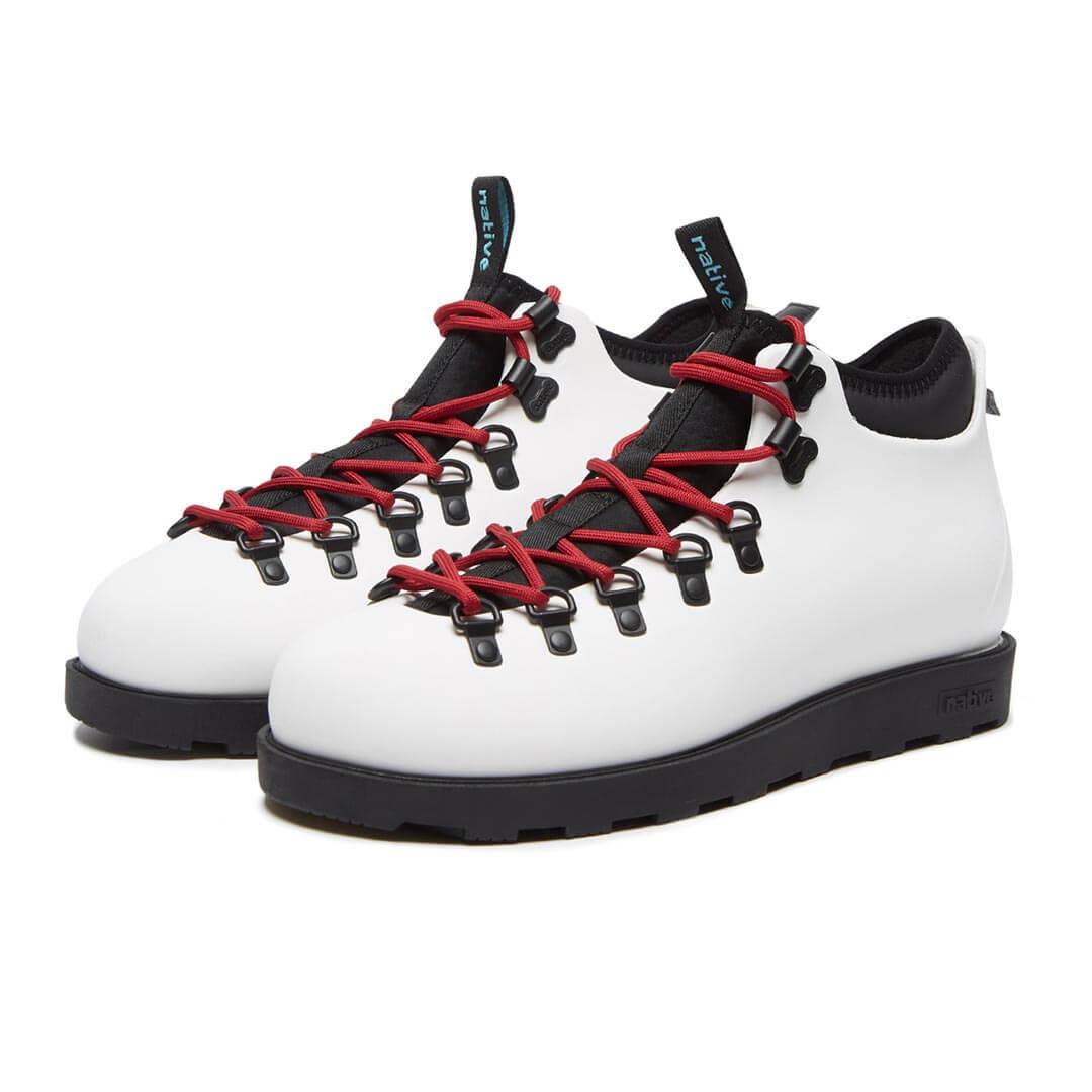 Ботинки Native Fitzsimmons Shell White Jiffy Black