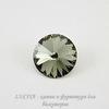 1122 Rivoli Ювелирные стразы Сваровски Black Diamond (14 мм)