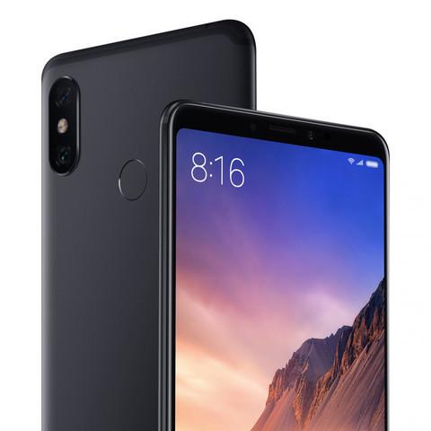 Смартфон Xiaomi Mi Max 3 4 / 64GB (черный)