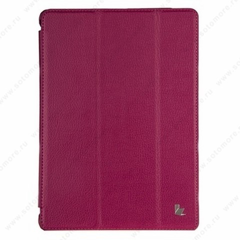 Чехол-книжка Jisoncase PU для Apple iPad Air 1 цвет малиновый JS-I5D-09T