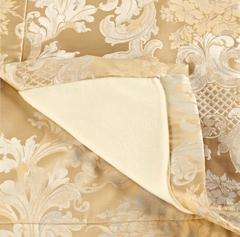 Элитный плед Louis XIV золотой от Curt Bauer