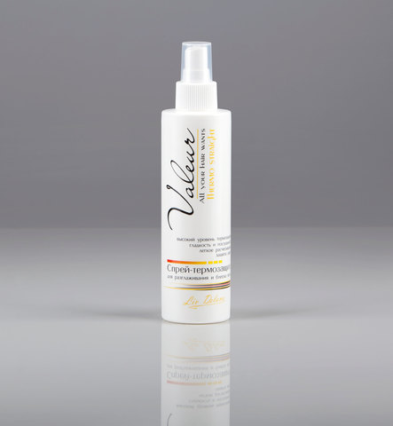 Спрей-термозащита для разглаживания и блеска волос