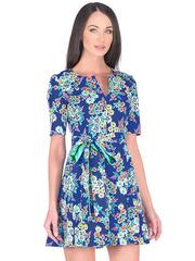 WD2457F-2 платье женское, синее