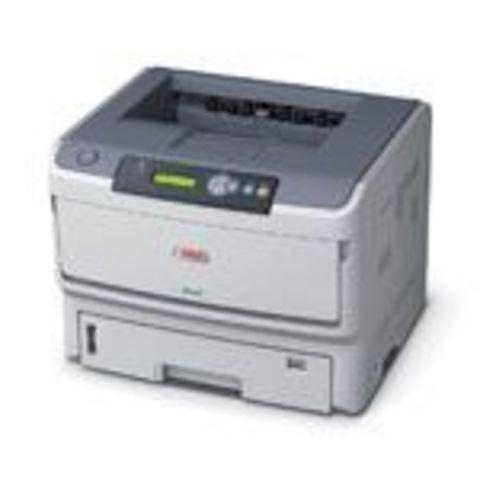 Лазерный принтер OKI B840DN, формат А4, 40 стр/мин. Для A4, 22 стр/мин. Для A3, 128Мб (максимум 640Мб), 1200x1200 точек на дюйм, языки принтера: PCL/PostScript/SIDM, 10/100 BaseTX Ethernet, Parallel, 530 листов + 100 листов в многофункциональном лотке.