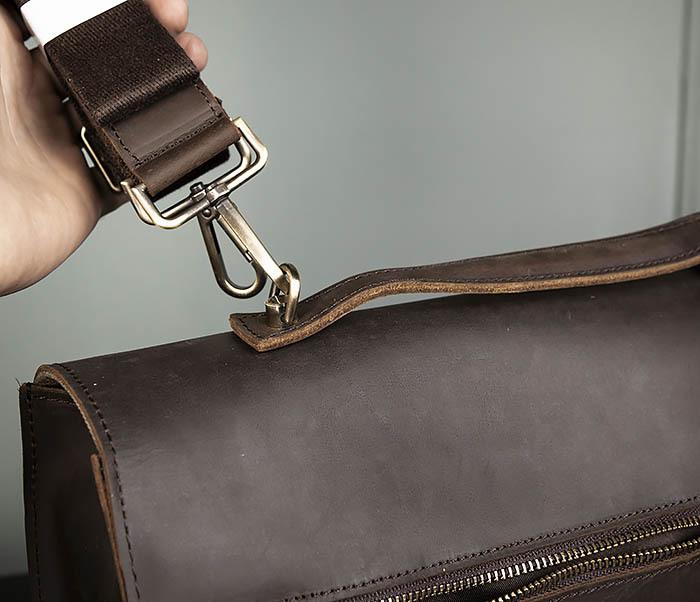 BAG471-2 Мужской портфель из толстой кожи фото 08
