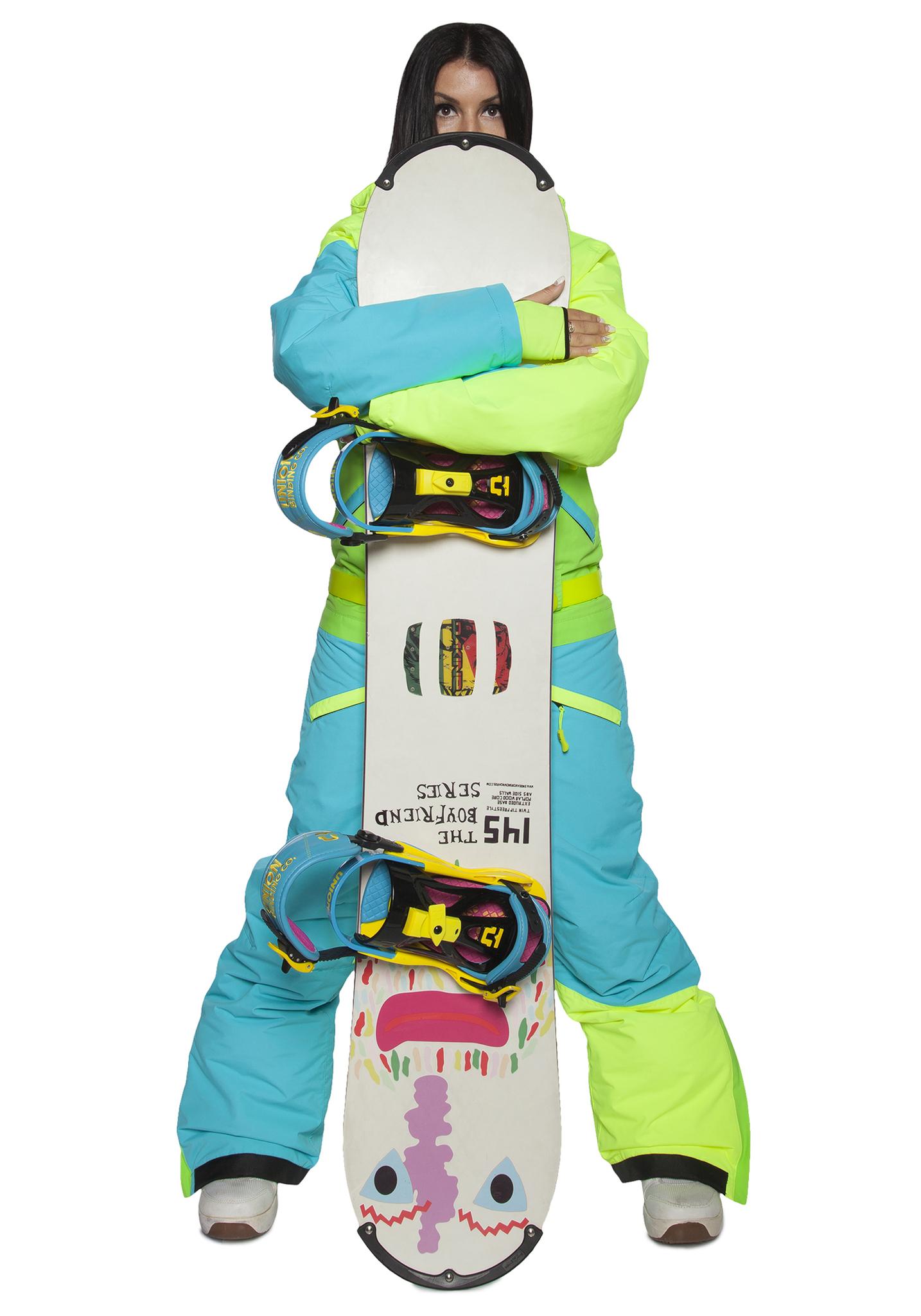 Теплый сноубордический комбинезон Cool Zone (Кул Зон) с флисом  для женщин до -30°С фото