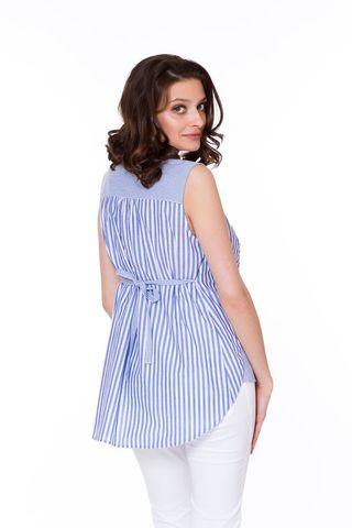 Блузка 08568 синий
