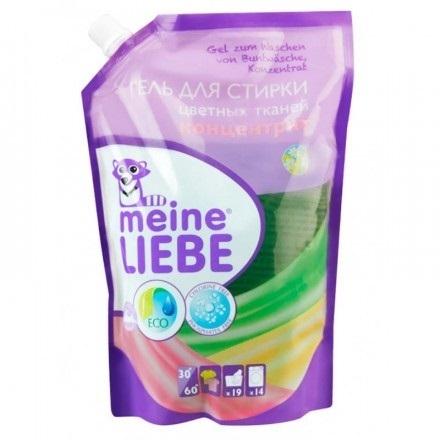 Гель для стирки, MEINE LIEBE, для цветных тканей, сменный блок, 750 мл