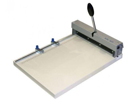 Биговщик ручной Cyklos KSL 320 - максимальная раб. ширина: 320мм, плотность бумаги: до 400г/м2, ширина бига: 1,0 / 1,5мм.