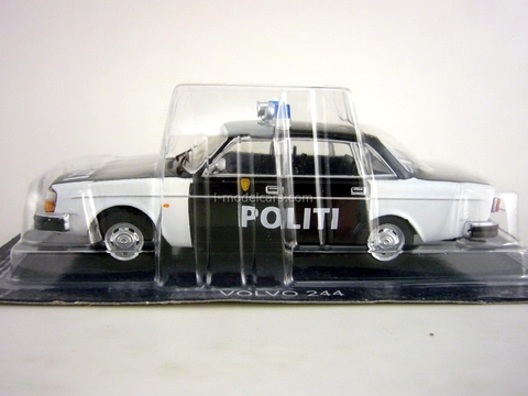 Volvo 244 Norway Police 1:43 DeAgostini World's Police Car #73