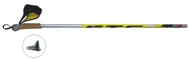 Палки лыжные STC (100% карбон)