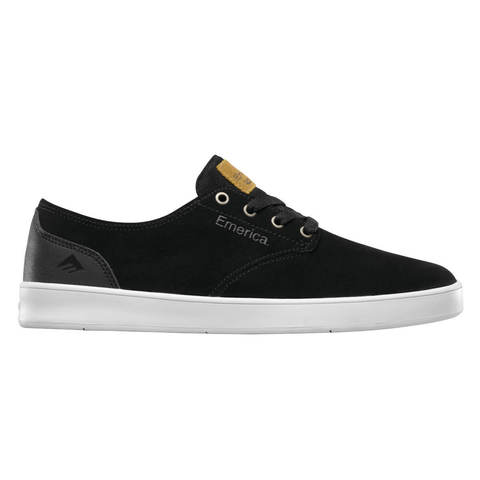 Кеды EMERICA The Romero Laced (Black/Black/White)