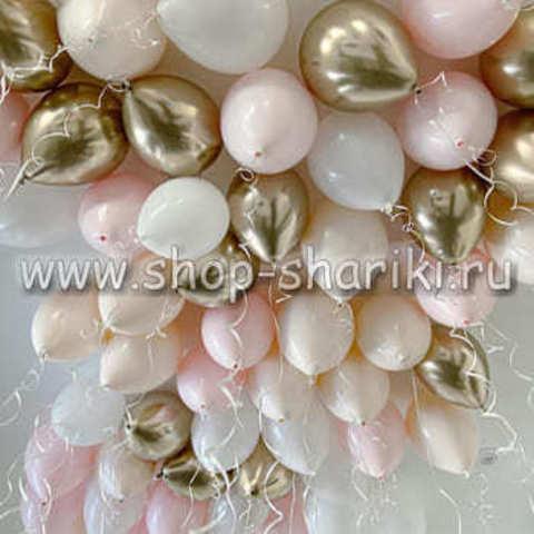 шарики под потолок ванильное настроение