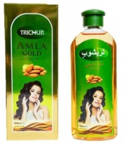 Масло АМЛА ГОЛД TRICHUP для волос, 200 мл VASU (Индия)