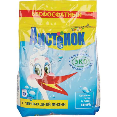 Порошок стиральный АИСТЕНОК 2,4 кг