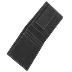 Портмоне WENGER Le Rubli, цвет черный, воловья кожа, 13×2,5×10 см