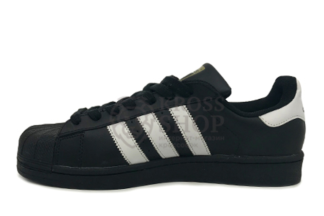Adidas Men's Superstar Black/WhiteAdidas Men's SuperStar Black/White