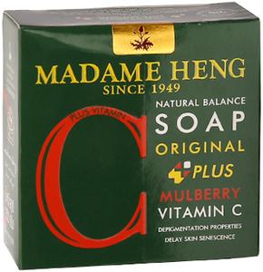 Madame Heng Мыло с Шелковицей Мадам Хенг Natural Balance plus Mulberry & Vitamin C, 150 г