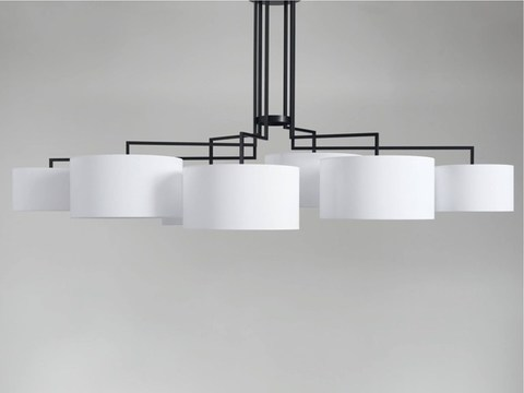 Chandelier Noon 7 by Zeitraum (white)