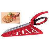 Ножницы для пиццы Pizza! красные