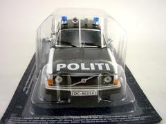 Volvo 244 Norway Police 1:43 DeAgostini World's Police Car #73