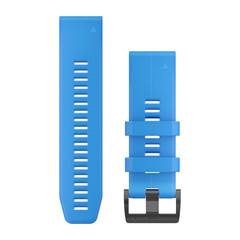 Ремешок силиконовый QuickFit 26 для Garmin Fenix 5X (синий) 010-12741-02