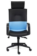Кресло Модерн (MODERN)-1 — черный/синий (ОН1014)
