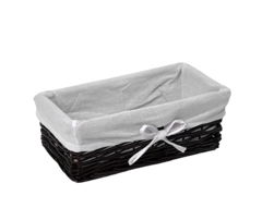 Плетеная корзина для ванной WasserKRAFT Lossa WB-120-M