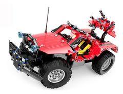 Радиоуправляемый конструктор с мотором Cada Technics Джип - 2.4G