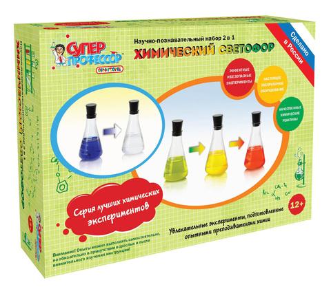 Набор для исследований QIDDYCOME Химический светофор (X002)