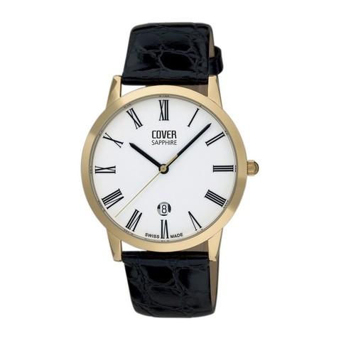 Купить Мужские наручные швейцарские часы Cover Co123.PL22LBK по доступной цене