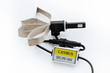 Комплект LED ламп головного света C-3 H27, Flex (гибкий кулер) сhip PHILIPS
