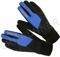 Перчатки Nordski Active WS Black-Blue 2020