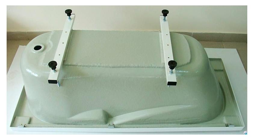 Ванна акриловая BAS Ибица 150х70 на ножках
