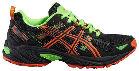 Детские кроссовки внедорожники для бега Asics Gel-Venture 5 GS C584N 9009