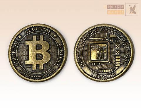 монета Биткойн - bitcoin
