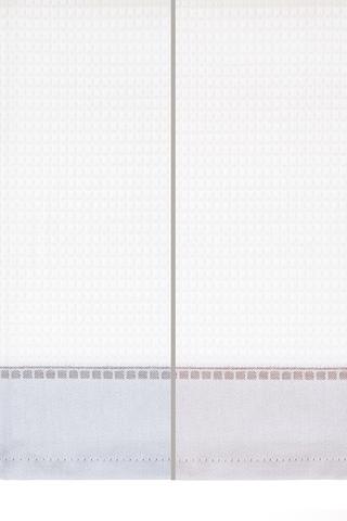 Набор полотенец 2 шт Luxberry Lunch белый/мокко/серый