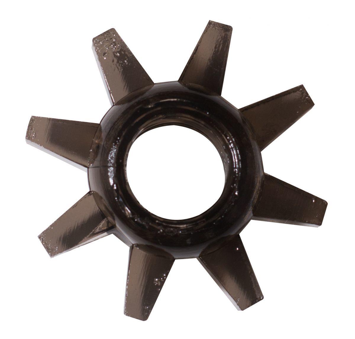 Эрекционные кольца: Чёрное эрекционное кольцо Rings Cogweel