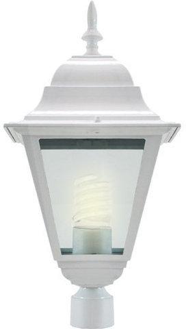 Светильник садово-парковый, 100W 230V E27 белый, 4203 (Feron)