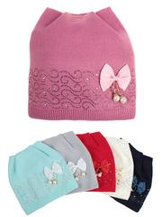 F76-20 шапка детская, цветная (флис)