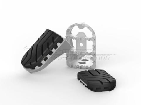 Подножки SW-MOTECH Footrest Kit BMW R1200GS LC (13-) / Adventure (14-)