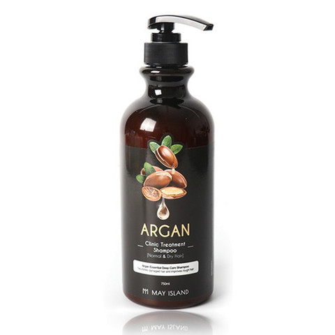 MAY ISLAND Argan clinic treatment shampoo Шампунь 750 мл